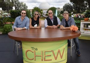 The Chew no evento Epcot International Food & Wine Festival