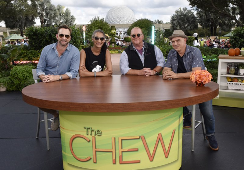 The Chew no evento Epcot International Food & Wine Festival