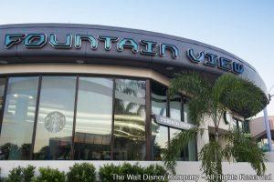 Fountain View reabre no parque Epcot com produtos Starbucks