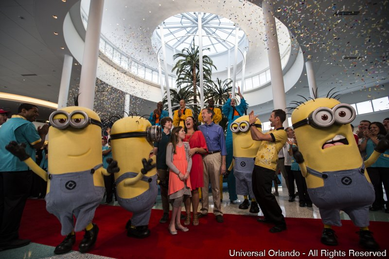O Universal's Cabana Bay Beach Resort já está aberto