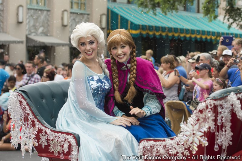 Até o dia 1º de setembro teremos programação especial do Disney's Hollywood Studios inspirada no filme Frozen
