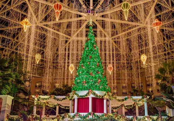 O Natal já chegou no Gaylord Palms Resort