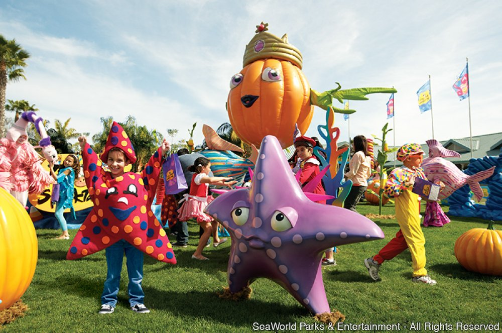 Halloween Spooktacular do SeaWorld Orlando destaca-se como evento ideal para as famílias