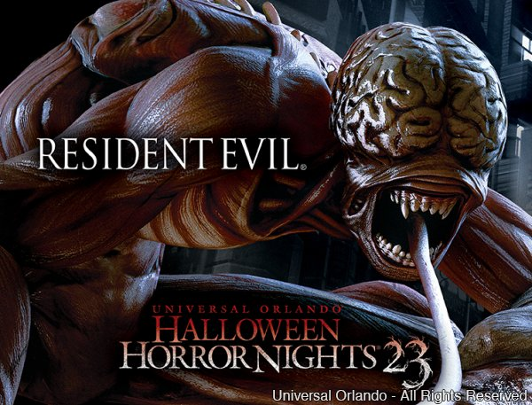 Resident Evil é a derradeira casa do evento Halloween Horror Nights 23