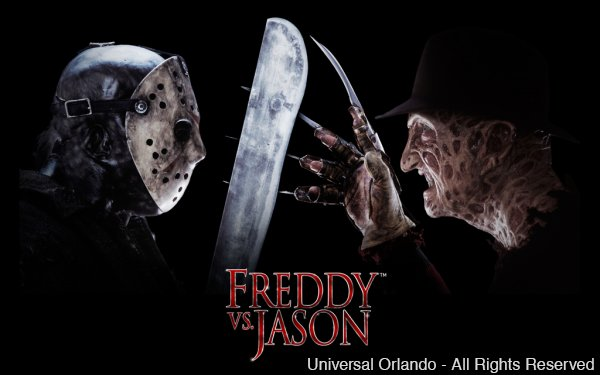 Freddy Krueger e Jason Voorhees estão confirmados para o evento Halloween Horror Nights 25