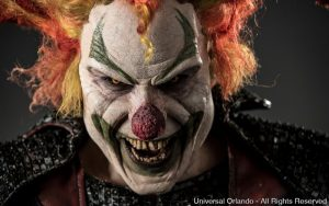 Jack the Clown está de volta ao evento Halloween Horror Nights