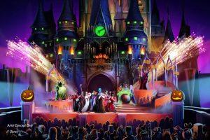 Novo show da Mickey's Not-So-Scary Halloween Party lança um feitiço em seus visitantes