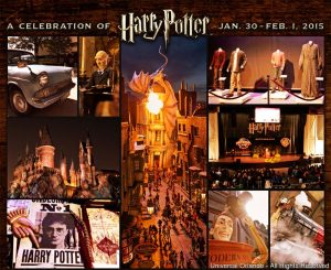 A Celebration of Harry Potter retorna ao Universal Orlando em 2015