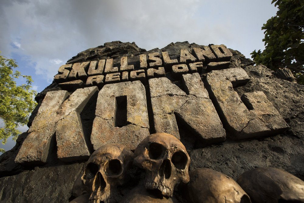 A atração Skull Island: Reign of Kong foi inaugurada no parque Islands of Adventure