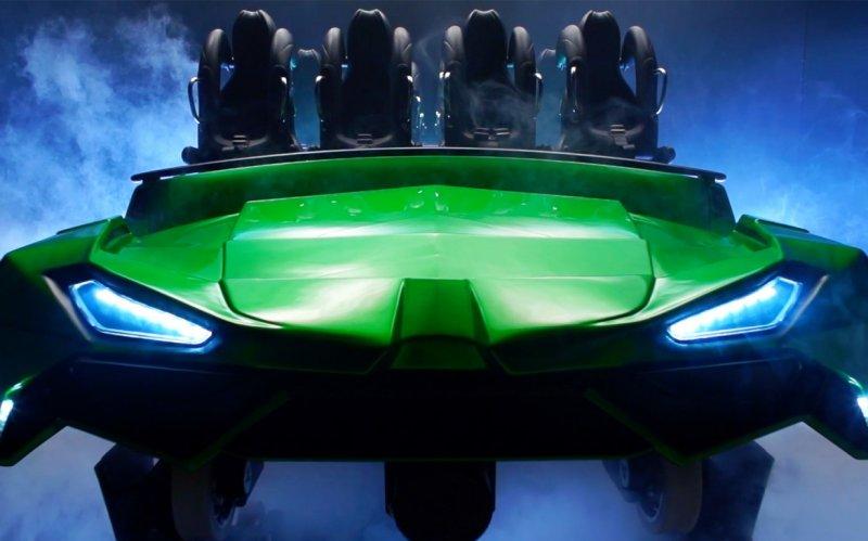 Detalhes completos revelados para relançamento do Incredible Hulk Coaster