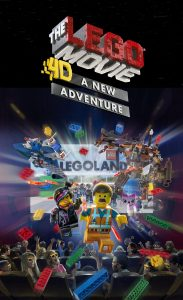 Divulgado vídeo de 30 segundos do The Lego Movie 4D New Adventure