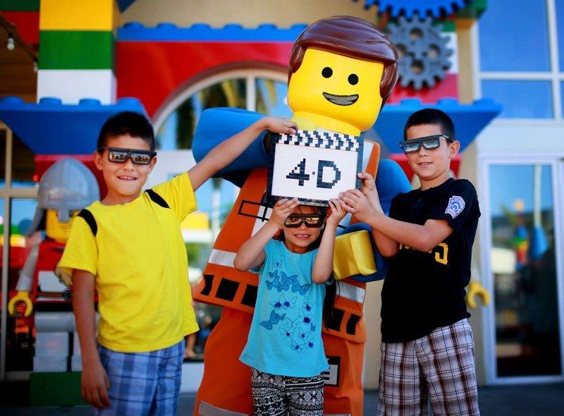Em breve um novo filme 4D – inspirado em The Lego Movie – será lançado no parque Legoland Florida