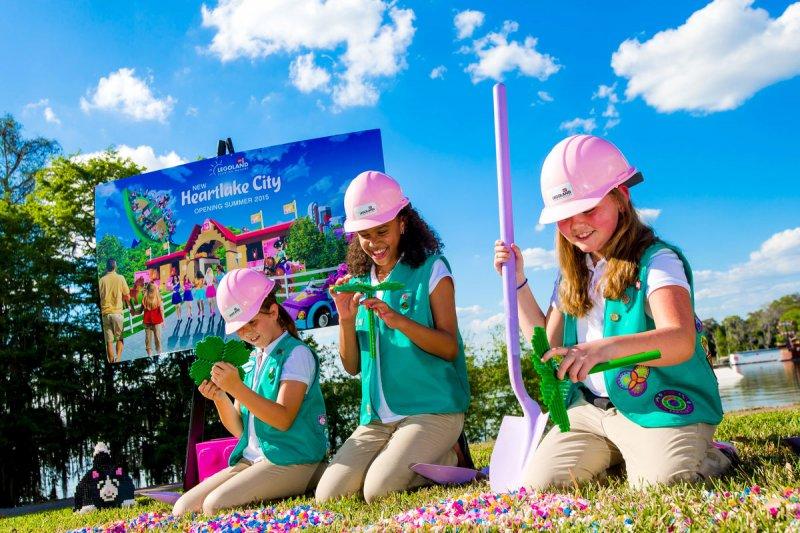 Foi iniciada a construção da nova área temática Heartlake City no Legoland Florida
