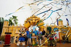 A ilha temática World of Chima foi inaugurada no parque Legoland Florida