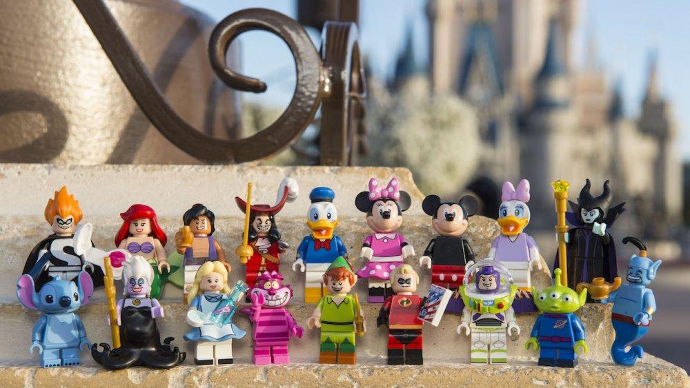 Agora você poderá ter os seus personagens prediletos da Disney eternizados pela Lego