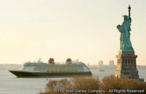 Disney Fantasy chega a Nova Iorque