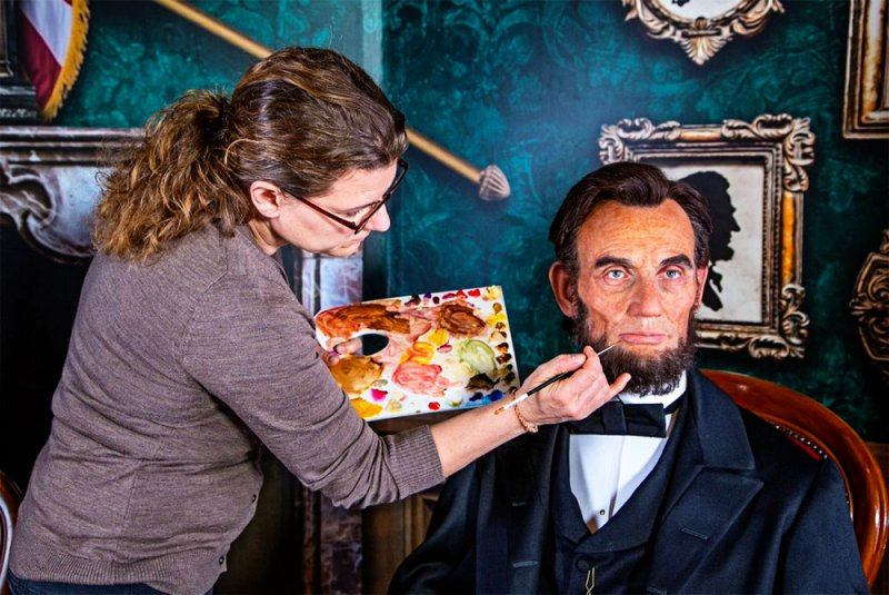 Abraham Lincoln no Madame Tussauds Orlando