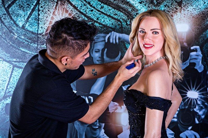 Figura de cera de Scarlett Johansson será exibida no Madame Tussauds Orlando por tempo limitado