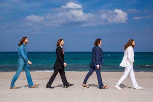 As figuras de cera dos Beatles são destaque no Madame Tussauds Orlando