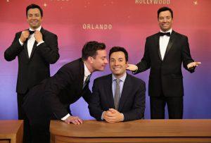 Figura de cera de Jimmy Fallon também estará no Madame Tussauds Orlando