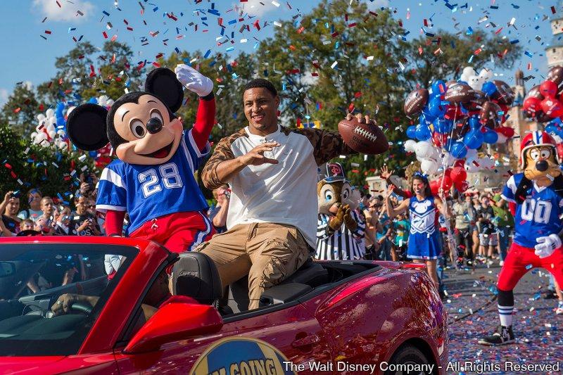 Foi a vez de Malcolm Smith gritar 'Eu vou para Disneyworld!'