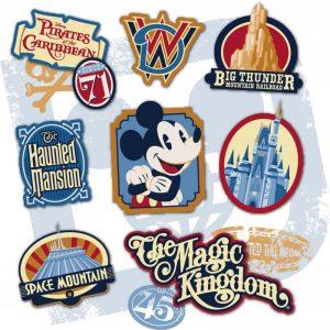 Conheça – em primeira mão – um pouco da arte que será utilizada nos produtos em celebração aos 45 anos do Magic Kingdom