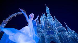 Hoje a Disney irá transmitir ao vivo o espetáculo A Frozen Holiday Wish