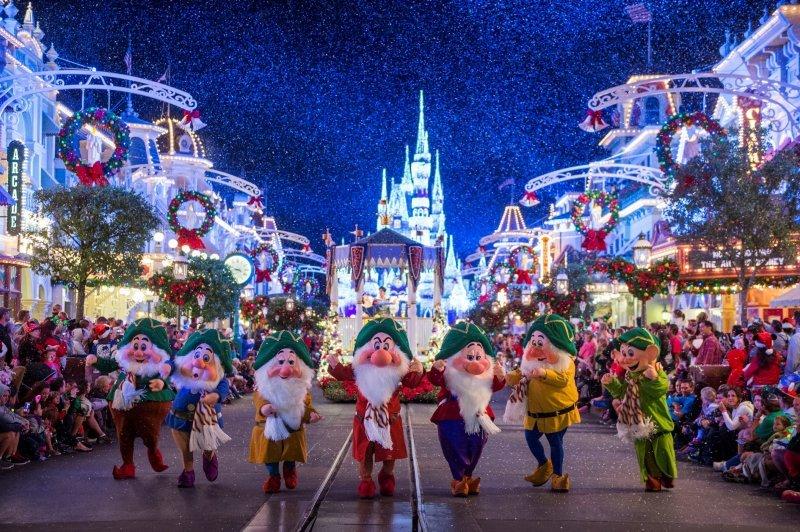 Comemore a chegada das férias de fim de ano com música e magia no Walt Disney World Resort