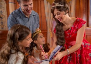 A Princesa Elena de Avalor passará a se apresentar no Princess Fairytale Hall a partir de 24 de novembro de 2016