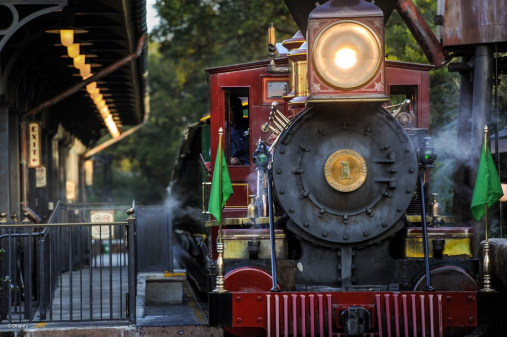 Walt Disney World Railroad irá completar 45 anos!