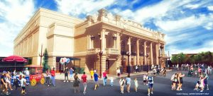 Será construído um novo teatro na Main Street U.S.A. do Magic Kingdom inspirado no Willis Wood Theater