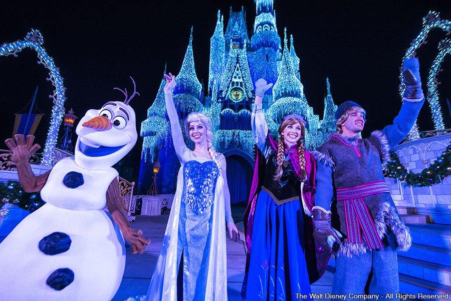 O espetáculo 'A Frozen Holiday Wish' será apresentado até o dia 12 de janeiro de 2015