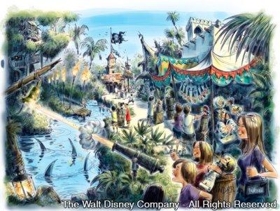 Uma nova aventura interativa no parque Magic Kingdom na próxima primavera americana