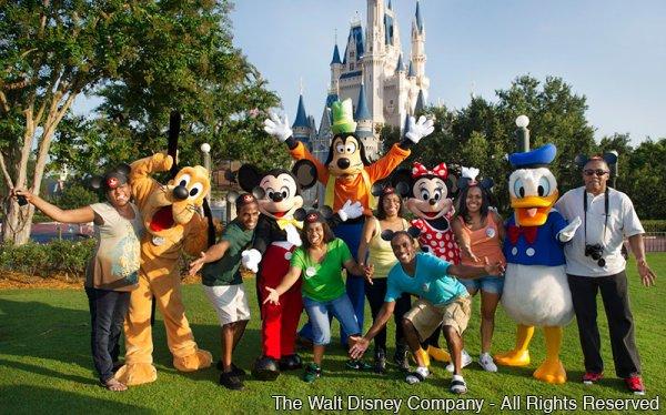 Os primeiros quíntuplos afro-americanos comemoram 30 anos em Walt Disney World Resort