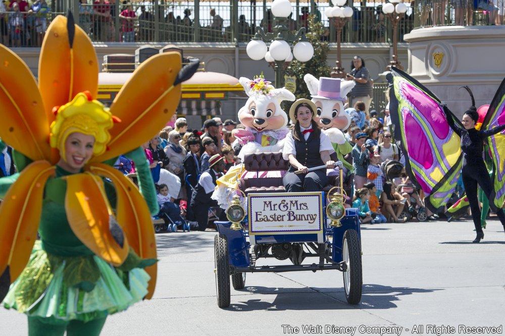 Comemorações de Páscoa em Walt Disney World Resort
