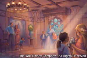 Bastidores da construção do Princess Fairytale Hall