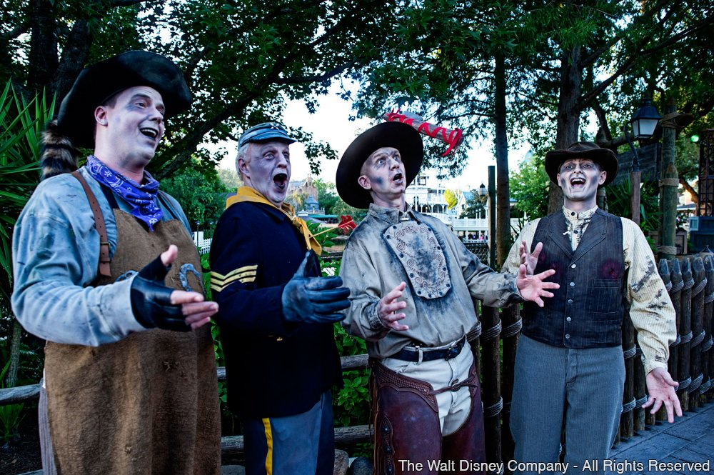 Canções fantasmagóricas no parque Magic Kingdom – Limited Time Magic
