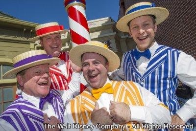 Dapper Dans retornam a Walt Disney World Resort como parte da campanha Limited Time Magic durante a semana de 19 a 25 de agosto de 2013