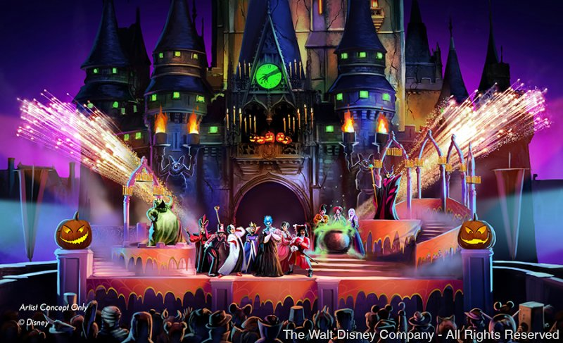 A Disney anunciou um novo espetáculo para o evento Mickey's Not-So-Scary Halloween Party