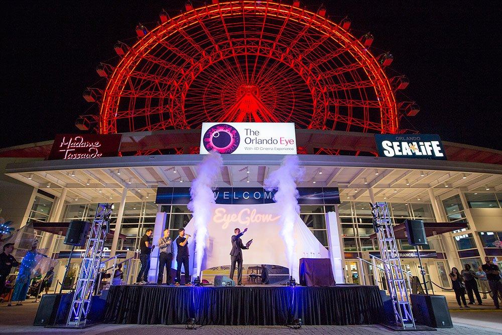 Conheça o EyeGlow, nova experiência da atração The Orlando Eye