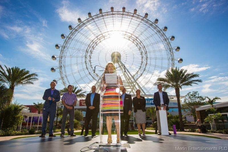 As atrações The Orlando Eye, Madame Tussauds e Sea Life Aquarium já foram inauguradas