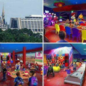 Uma nova experiência para crianças com personagens de Toy Story e The Incredibles está chegando ao Disney's Contemporary Resort
