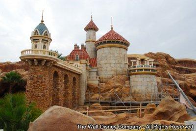 Mais detalhes sobre o castelo do Príncipe Eric – Nova Fantasyland – Magic Kingdom