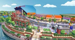 A cidade de Springfield será apresentada pela Universal no próximo verão americano