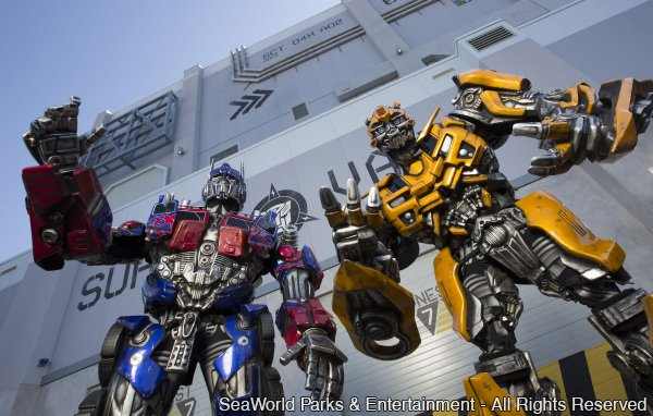 Já começaram os testes (soft opening) da atração Transformers: The Ride 3D