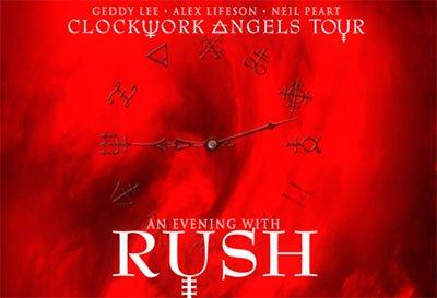 Rush no Amway Center no dia 28 de abril de 2013