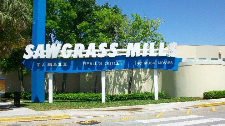 Sawgrass Mills apresenta inúmeras vantagens para os viajantes internacionais