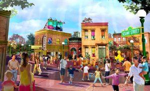 O parque SeaWorld Orlando irá construir uma nova área temática denominada Sesame Street