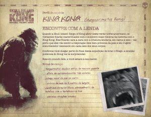 Encontre com a própria lenda colossal em Skull Island: Reign Of Kong