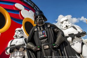 A Disney Cruise Line apresenta a novidade Star Wars Day em algumas viagens do Disney Fantasy